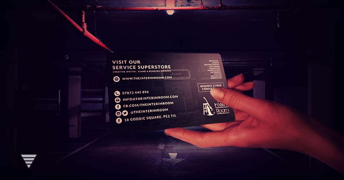 The Interim Room - Business Cards